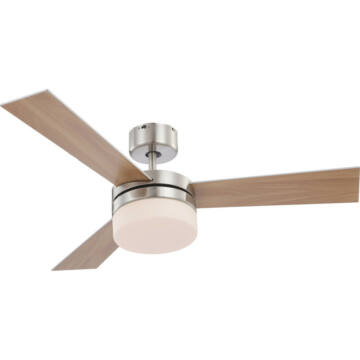 Globo ALANA 0333 stropni ventilator mat nikelj 2 * E14 max. 40 W E14 2 kos