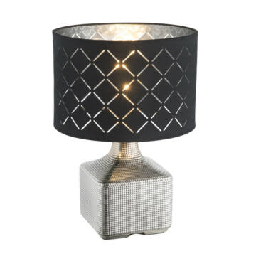 Globo MIRAUEA 21613 namizna svetilka krom keramika 1 * E27 max. 60 W E27 1 kos