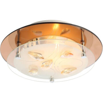 Globo AYANA 40413 kristalna stropna svetilka 1 * E27 ILLU max. 40 W E27 ILLU 1 kos