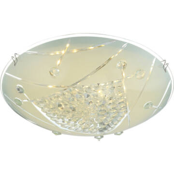 Globo ELISA 40415-8 kristalna stropna svetilka 1 x max. 8W LED 1 kos 640 lm 4000 K IP20 A