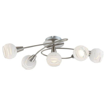 Globo ELLIOTT 54341-5 stropna svetilka 5 * E14 LED max. 5 W E14 LED 5 kos 320 lm 3000 K A+