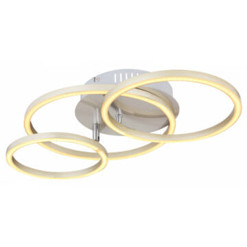 Globo KENDY 67233-30N stropna svetilka mat nikelj kovinski LED 1 kos 1500 lm 3000 K A