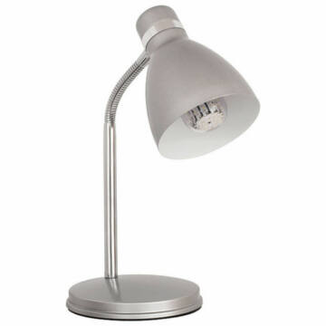 Kanlux Zara 7560 namizna svetilka srebro kovinski E14 1 kos 40 W IP20