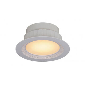 Rábalux Shea 1503 vgradna luč v spuščen strop bela kovinski LED 15 + 5 1050 lm 2700 K IP20 A