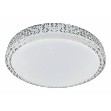 Rábalux Narcissa 3007 ufo svetilka prozorna kovinski LED 40 3200 lm IP20 A