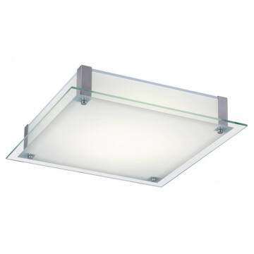 Rábalux Carl LED 3066 stropna svetilka bela kovinski LED 12 960 lm 4000 K IP20 A+