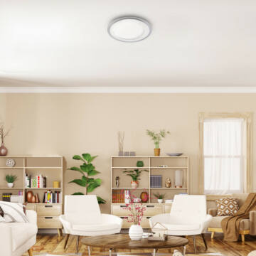 Rábalux Lorna 3488 stropna svetilka bela plastika LED 22 2200 lm 4000 K IP20 A+