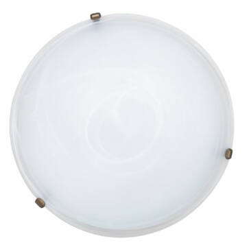 Rábalux Alabastro 3739 ufo svetilka bela kovinski E27 3x MAX 40 E27 3 kos IP20