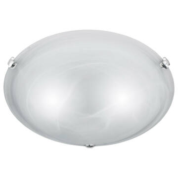 Trio ADRIAN 6105021-01 ufo svetilka alabaster excl. 2 x E27, max. 40W E27 2 kos