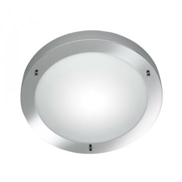 Trio CONDUS 6801011-06 stropna svetilka krom excl. 1 x E27, max. 60W E27 1 kos IP44