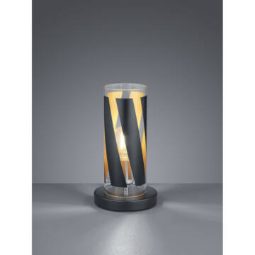 Trio FARINA R50900132 nočna namizna svetilka excl. 1 x E27