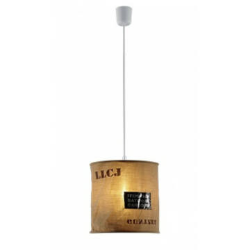 Trio BAG R30221026 moderna obesečna svetilka tkanina excl. 1 x E27, max. 60W E27 1 kos IP20