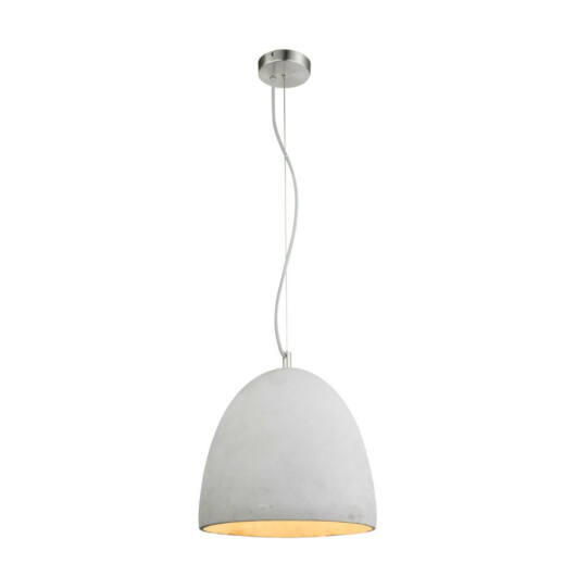 Globo SAFA 15010 obesečna svetilka siva tkanina E27 1 kos IP20