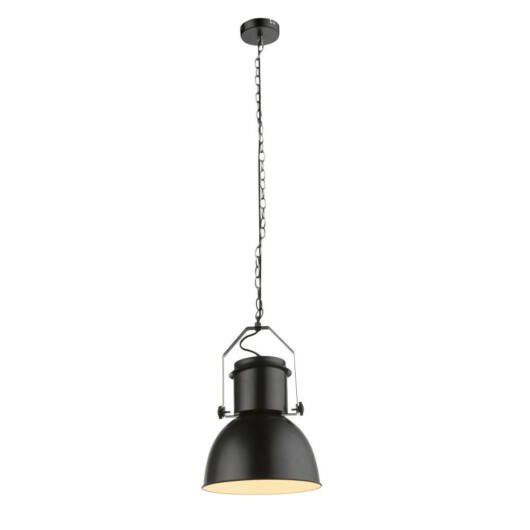 Globo KUTUM 15283 enokraka obesečna svetilka črna 1 * E27 max. 40 W E27 1 kos