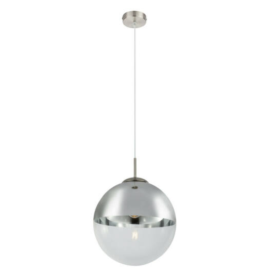 Globo VARUS 15853 stropna svetilka  mat nikelj   kovinski   1 * E27 max. 40 W   E27   1 kos