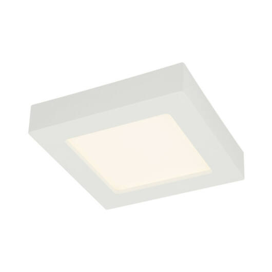 Globo SVENJA 41606-12 kopalniška stropna svetilka bela aluminij 1 * LED max. 12 W LED 1 kos 1000 lm 3000 K A+