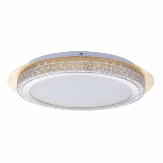 Globo HAKKA 41912-24G kristalna stropna svetilka  inkl. 1xLED 22W 230V,  2000lm,  CCT 3.000-4500-6.000   2000 lm  IP20   A+