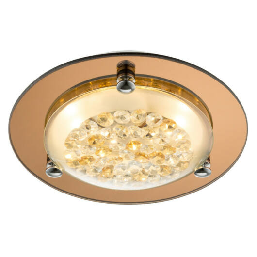 Globo FROO 48247 kristalna stropna svetilka  1 * LED max. 8 W   LED   1 kos  700 lm  4000 K  A+
