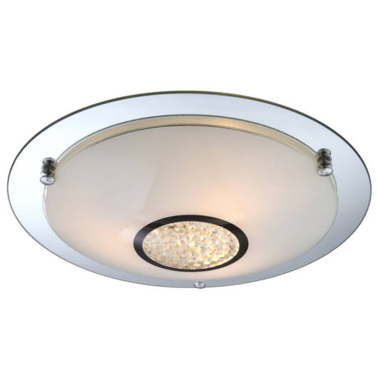 Globo EDERA 48339-3 kristalna stropna svetilka  krom   3 * E27 ILLU max. 60 W   E27 ILLU   3 kos