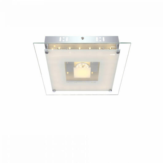 Globo FRANCO 49207-18 stropna svetilka  krom   1 x max. 18W   1100 lm  3100 K  IP20   A