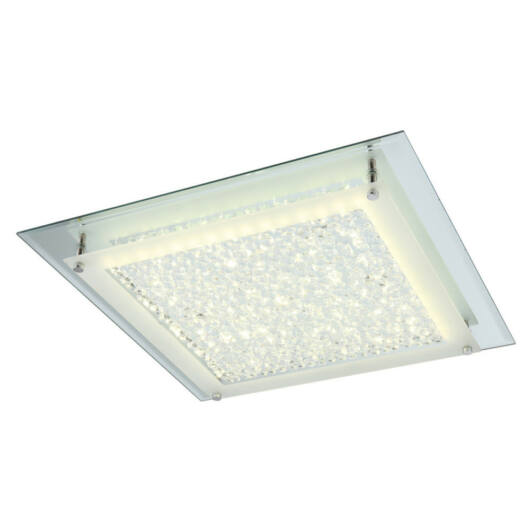 Globo LIANA 49302 kristalna stropna svetilka  krom   1 x max. 18W   1620 lm  4000 K  IP20   A+