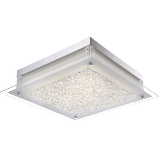Globo LEAH 49313 kristalna stropna svetilka krom 1 x max. 20,5W LED 1 kos 2050 lm 4000 K IP20 A