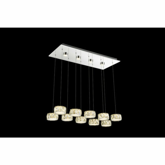 Globo AMUR 49350-92H led obesečna svetilka  1 * LED max. 96 W   6500 lm  4000 K  A+
