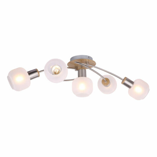 Globo LOGGI 54302-5 stropna svetilka  exkl. 5xE14 40W 230V