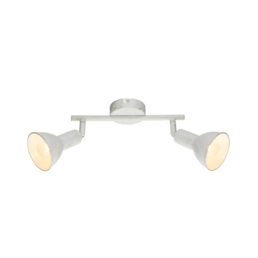 Globo CALDERA 54648-2 stropna svetilka  bela   2 x E14 max. 40w   3800 lm  A