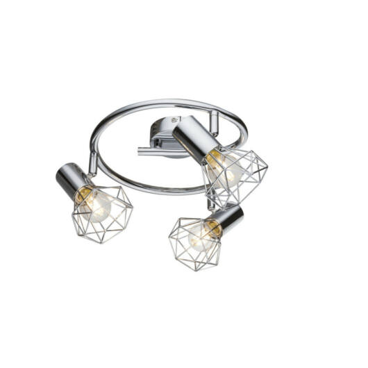 Globo XARA I 54802-3 stropna svetilka  krom   3 * E14 max. 40 W