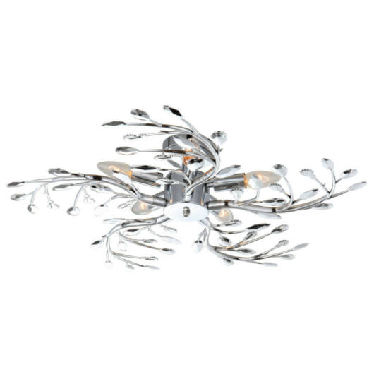 Globo FLASH 68546-5 stropna svetilka  krom   5 * E14 max. 40 W   E14   5 kos