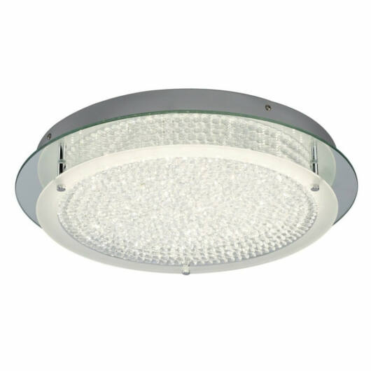 Mantra CRYSTAL LED 5092 stropna svetilka  krom   kovinski   LED 21W   2100 lm  4000 K  IP20