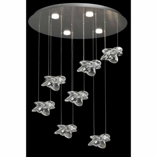 Mantra Nido 5901 stropna svetilka  nikelj   kovinski   LED - 1 x 42W   5080 lm  3000 K  IP20   A++