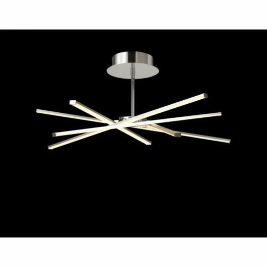 Mantra Aire LED 6031 stropna svetilka  srebro   kovinski   LED - 1 x 42W   3700 lm  3000 K  IP20   A++