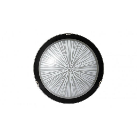 Rábalux Sphere 1857 ufo svetilka črna kovinski E27 1x MAX 60W E27 1 kos IP20