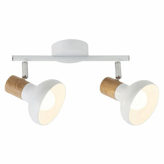 Rábalux Holly 5944 stropna svetilka  bela   kovinski   E14 2x MAX 40W   IP20