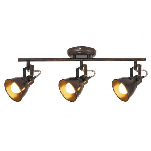 Rábalux Vivienne 5964 stropna svetilka  starinsko rjava   kovinski   E14 3x MAX 40W   E14   3 kos  IP20