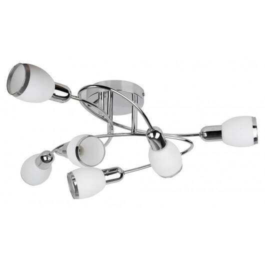 Rábalux Elite 6064 stropna svetilka  krom   kovinski   E14 6x MAX 40W   E14   6 kos  IP20