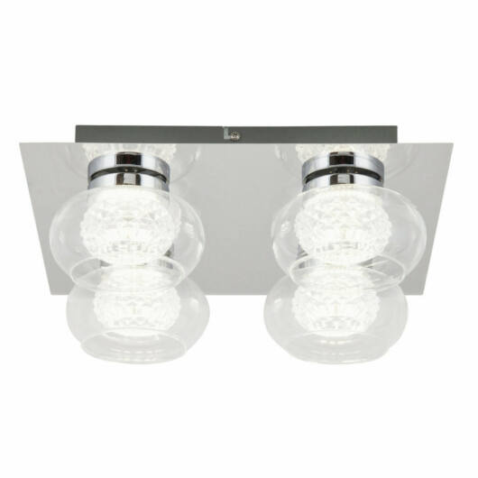 Rábalux Karissa 6229 stropna svetilka  krom   kovinski   LED 4x 4,8W   384 lm  4000 K  IP20   A