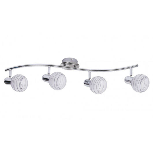Rábalux Aurel lilac 6368 stropna svetilka  krom   kovinski   E14 4x MAX 40W   IP20