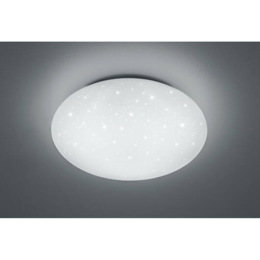 Trio HIKARI R67611100 stropna svetilka  bela   plastika   incl. 1 x SMD, 46W, 4000K, 4600Lm   4600 lm  4000 K  IP20   A+
